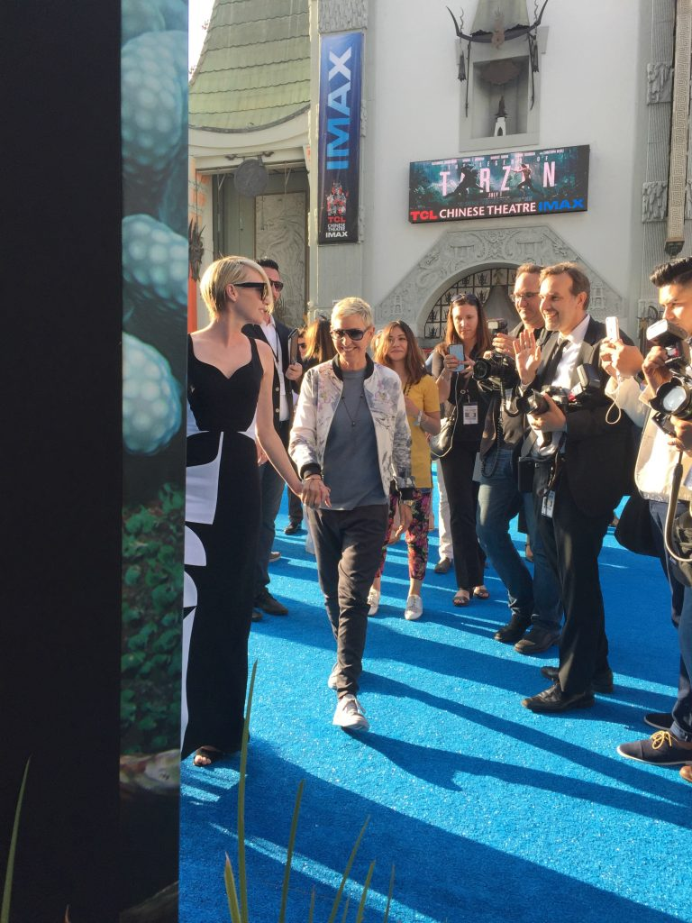 Ellen DeGeneres on the Finding Dory Red Carpet. Find out what happened at the Finding Dory Red Carpet Premiere. Plus see what we think of the new Finding Dory movie.