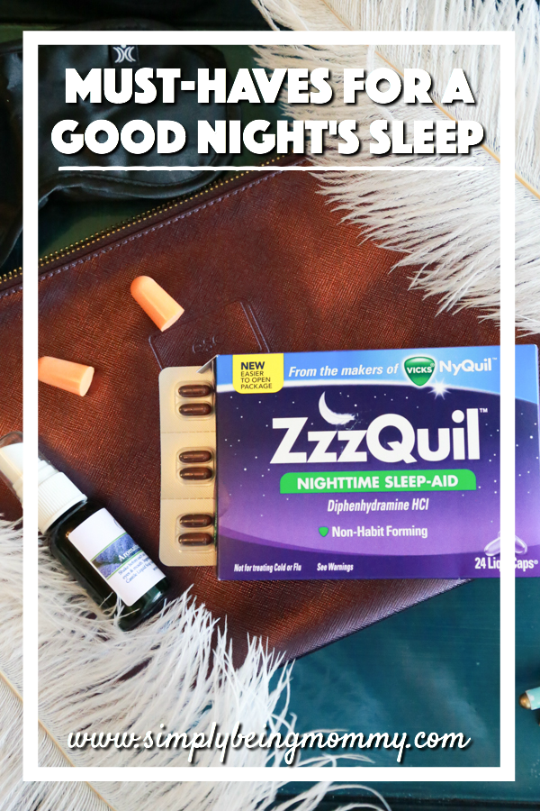 It's not always easy to get a good's night sleep. But with these must-haves for a good night's sleep, it's easier.