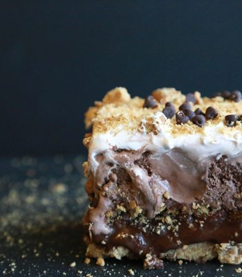 You can have your cake and eat it too with this decadent S'Mores Ice Cream Cake. Layers and layers of goodness all in one amazing dessert.