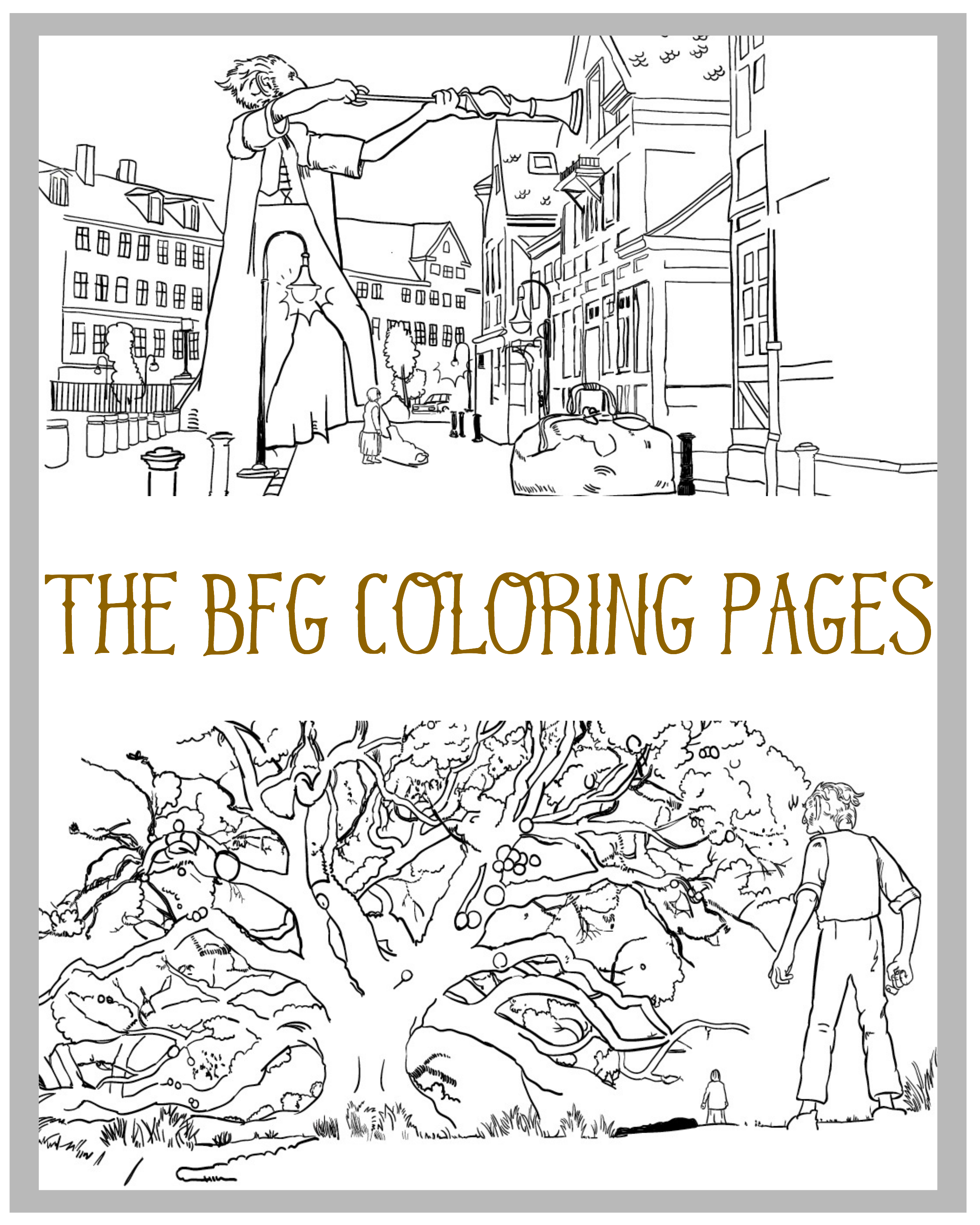 The BFG Coloring Pages are now available to download and print as many times as you'd like.