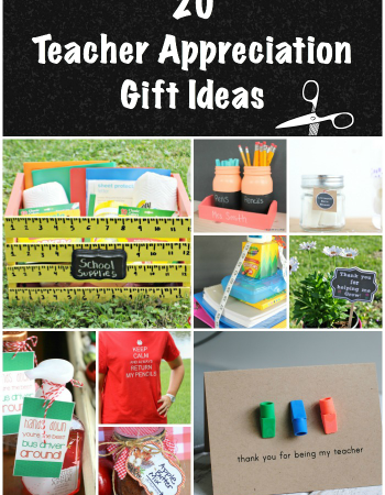 Show your child's teacher how much you appreciate them with these 20 Teacher Appreciation Gift Ideas.