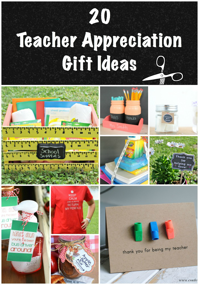 Show your child's teacher how much you appreciate them with these 20 Teacher Appreciation Gifts.
