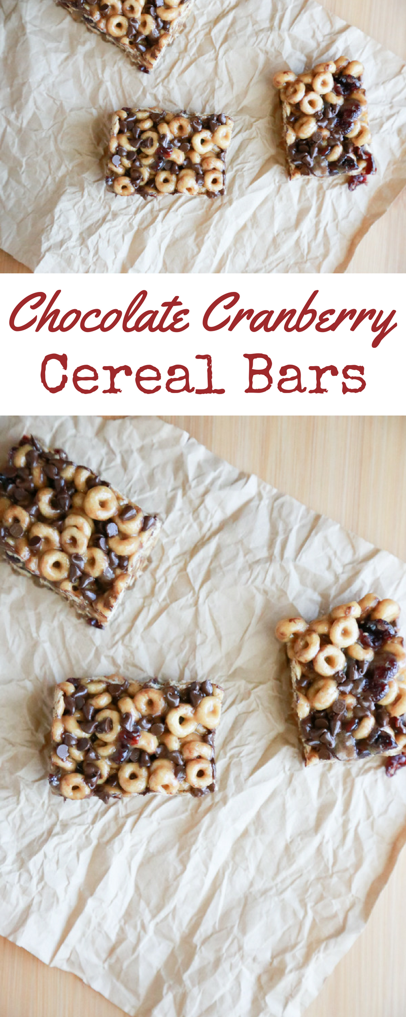 Forget about those mornings where you don't know what to serve for breakfast. Make these Chocolate Cranberry Cereal Bars and make breakfast easy.