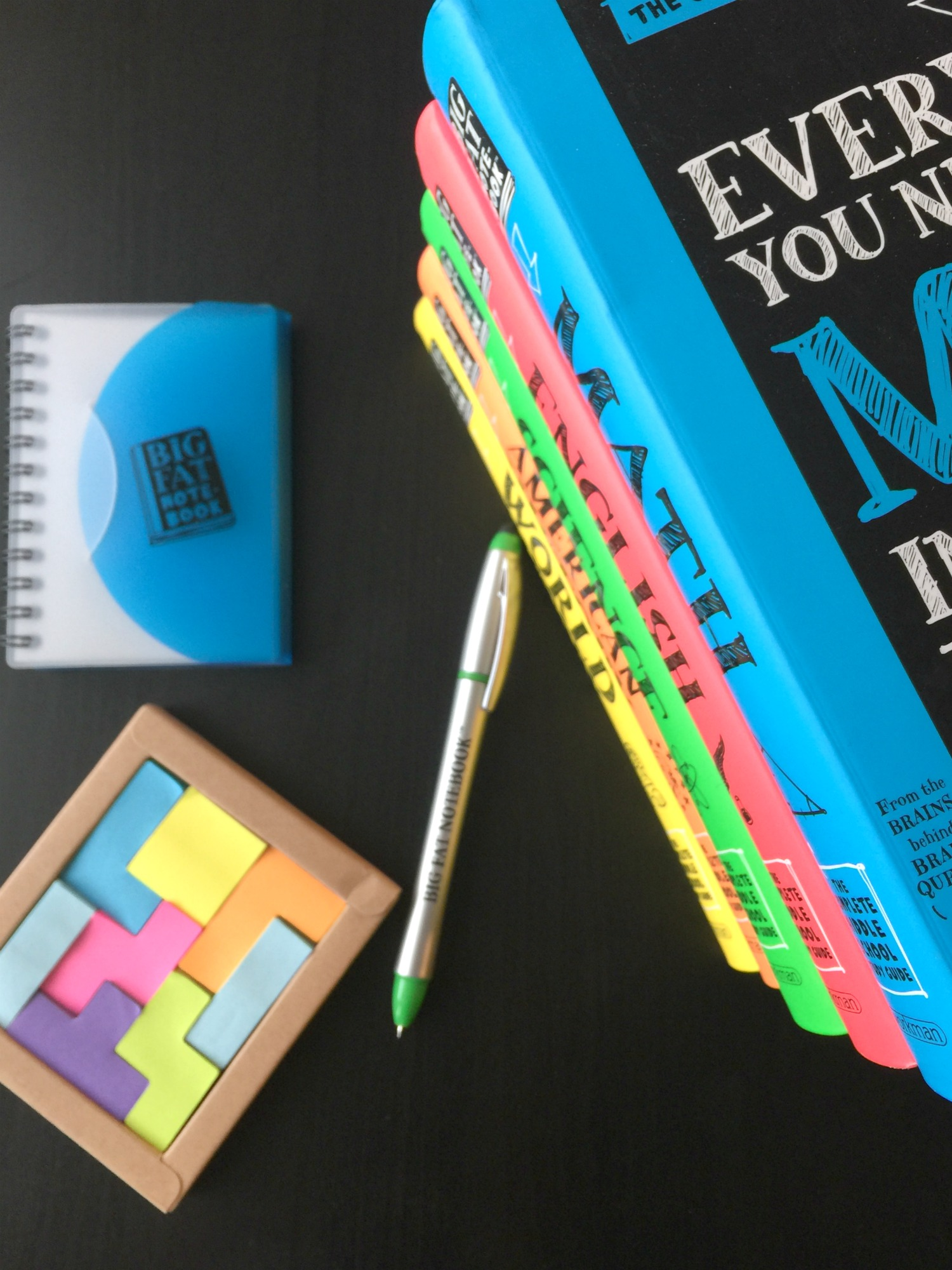 Middle school just got easier with Big Fat Notebooks, a series of five study guides perfect for your middle schooler.