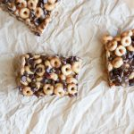 Chocolate Cranberry Cereal Bars