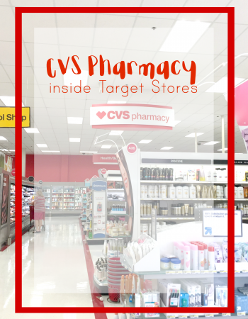 You can now find CVS Pharmacy inside Target stores nationwide. See why this a great partnership for both CVS shoppers and Target shoppers alike!