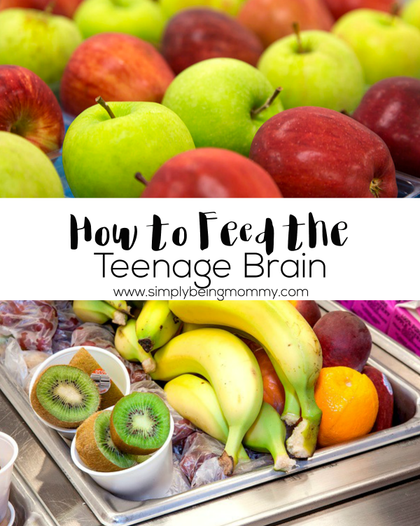 Teens can be hard to understand. But as parents, we have to learn how to feed the teenage brain so that they can learn to live a healthy lifestyle.
