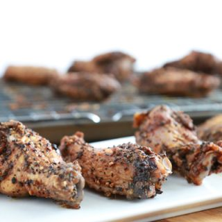 Salted Coffee Chicken Wings