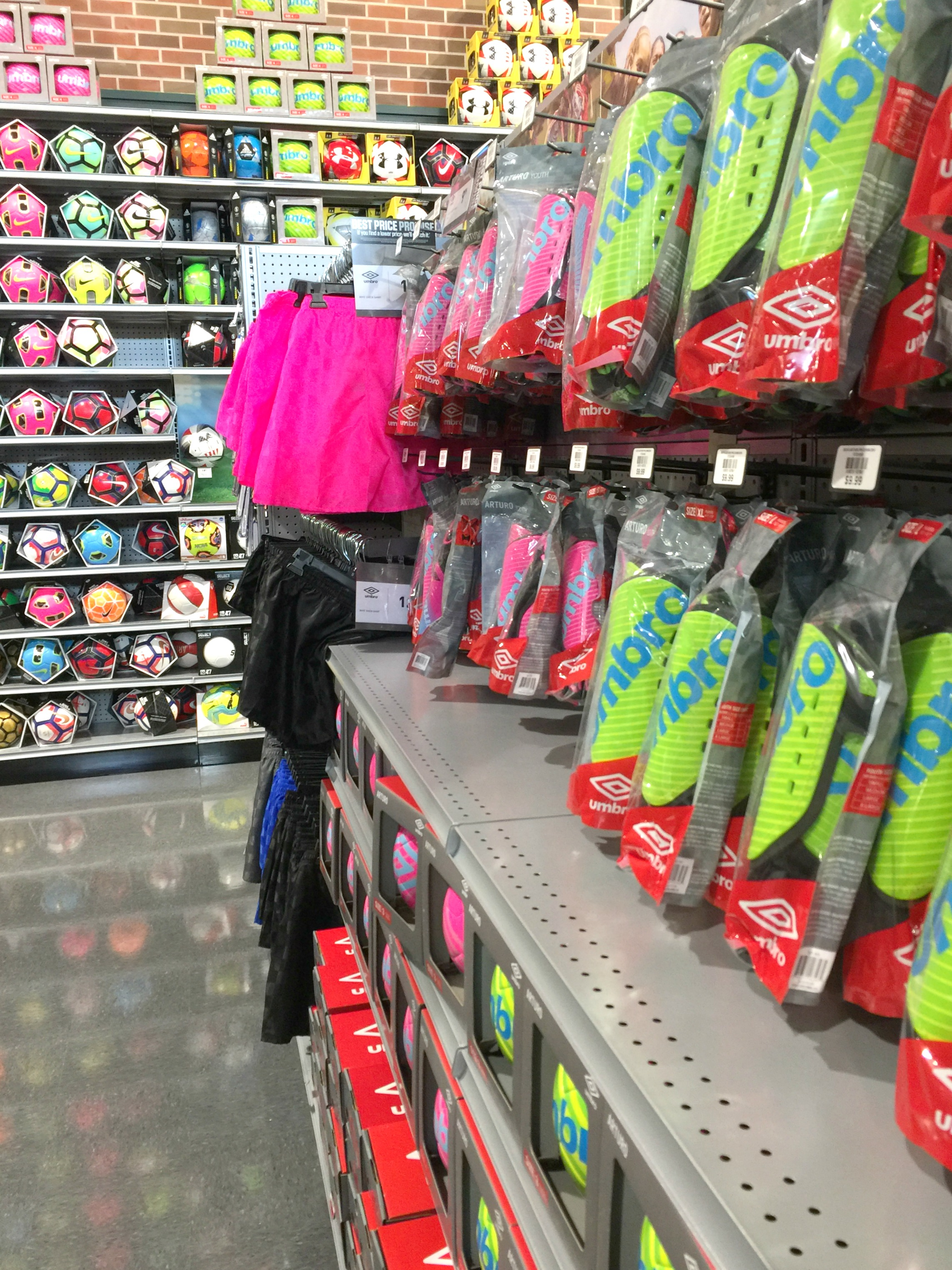 Dick's Sporting Goods recently opened six Houston-area stores.