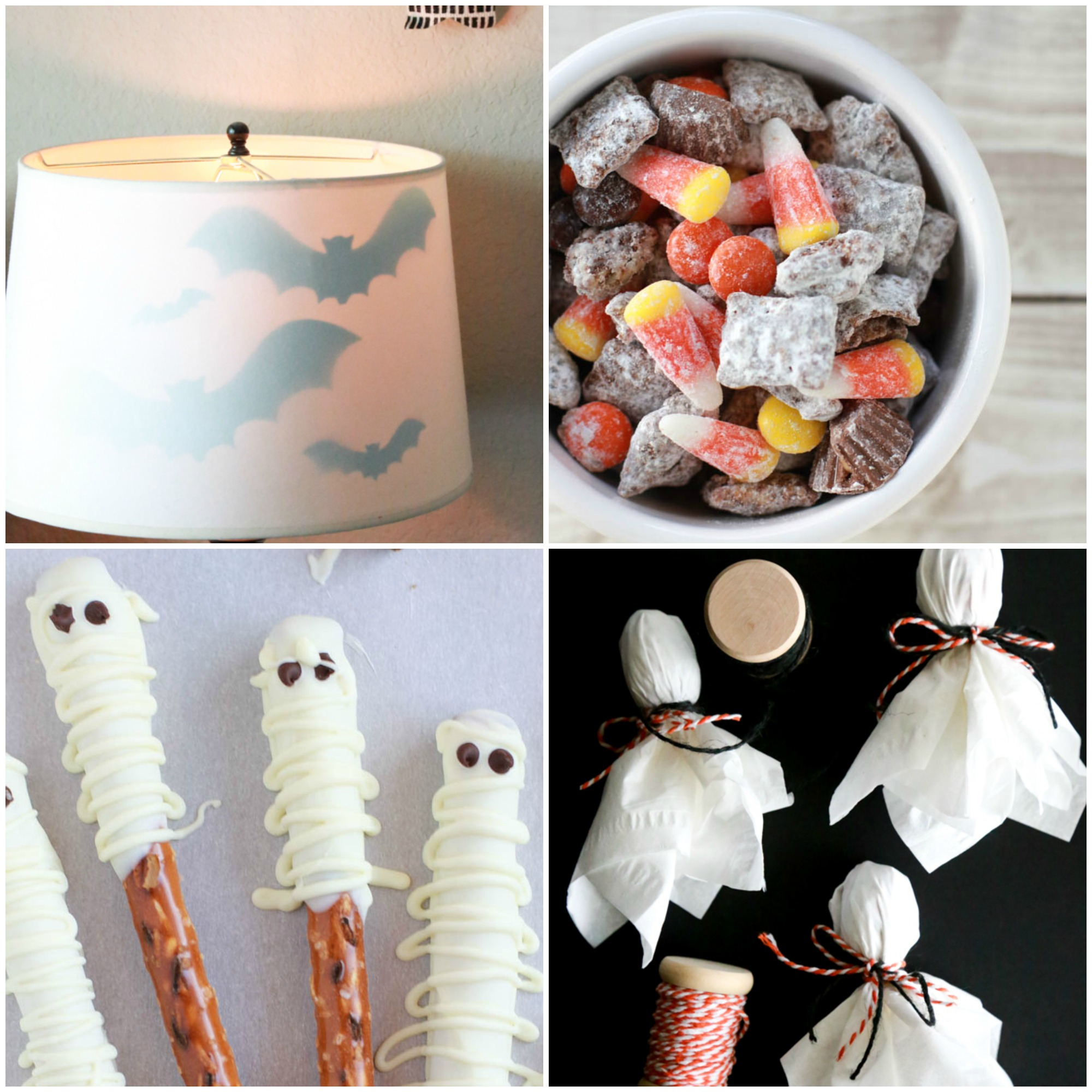Halloween treats and decor