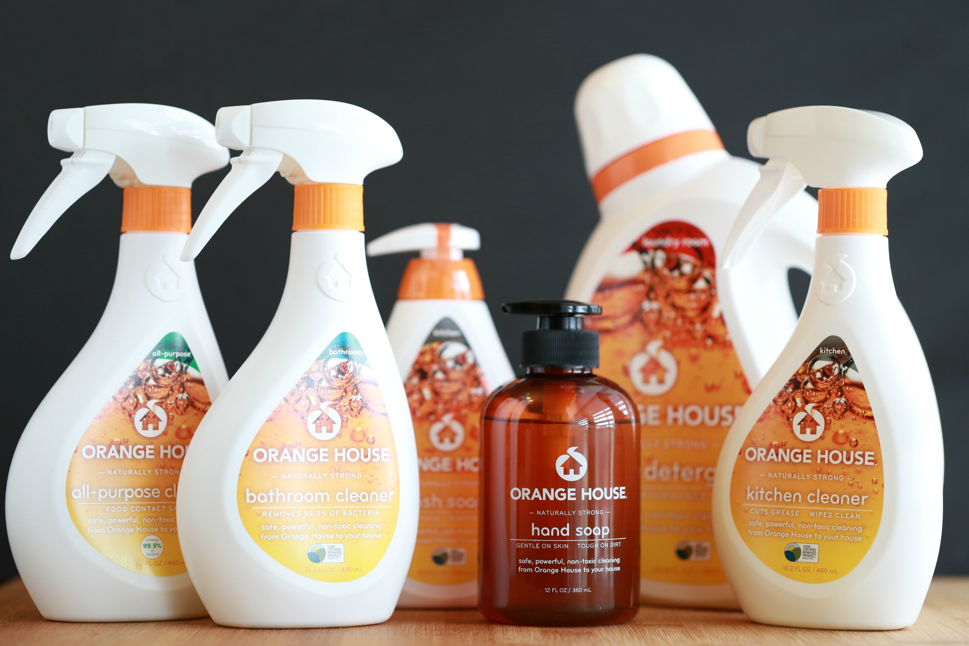 When keeping a clean home is a top priority, the products you used matter a lot. Take the Orange House Challenge and see for yourself.
