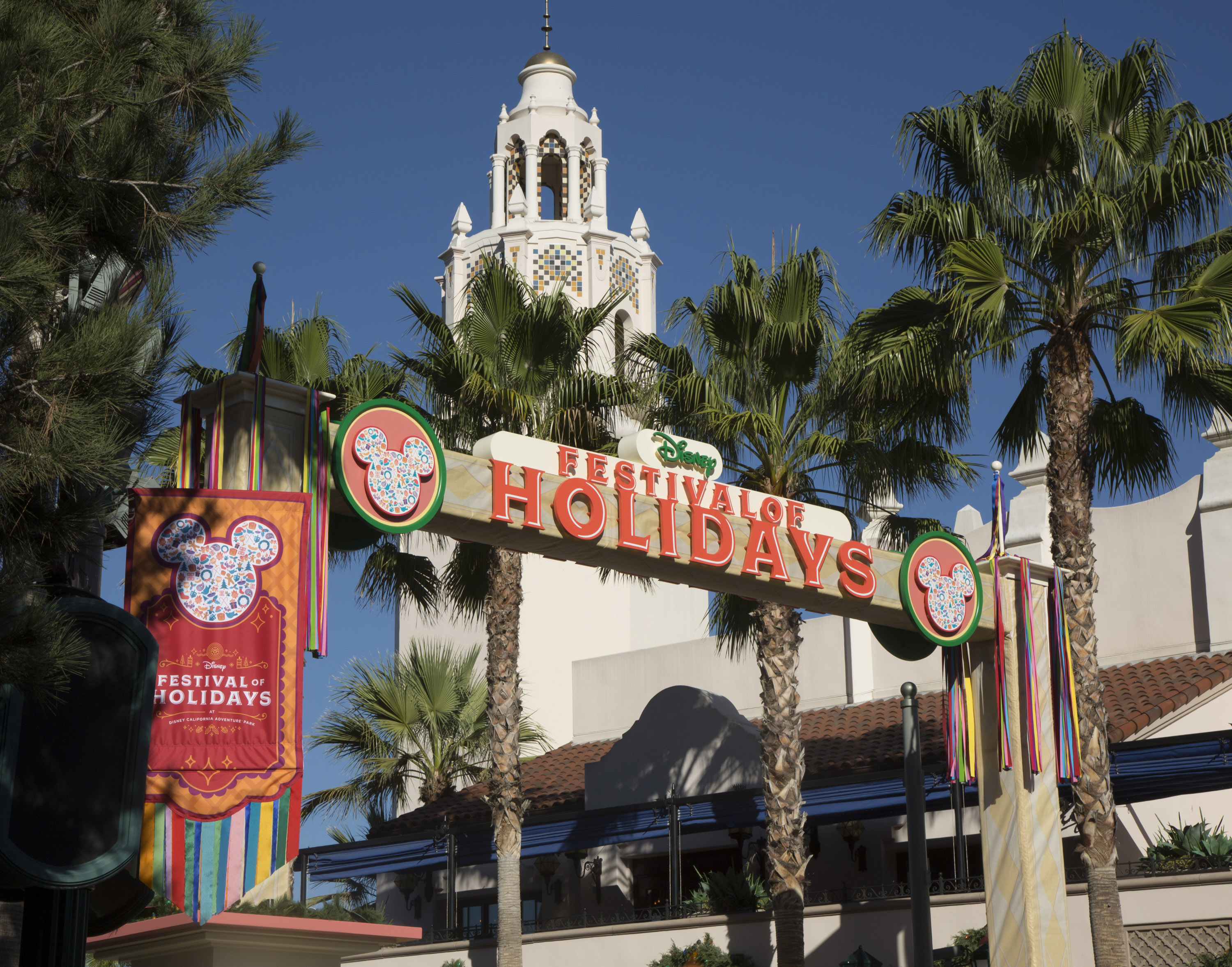 The new Festival of Holidays at the Disneyland Resort celebrates holiday festivities of diverse cultures with music, dance and craft-making, plus food at the Festive Foods Marketplace.
