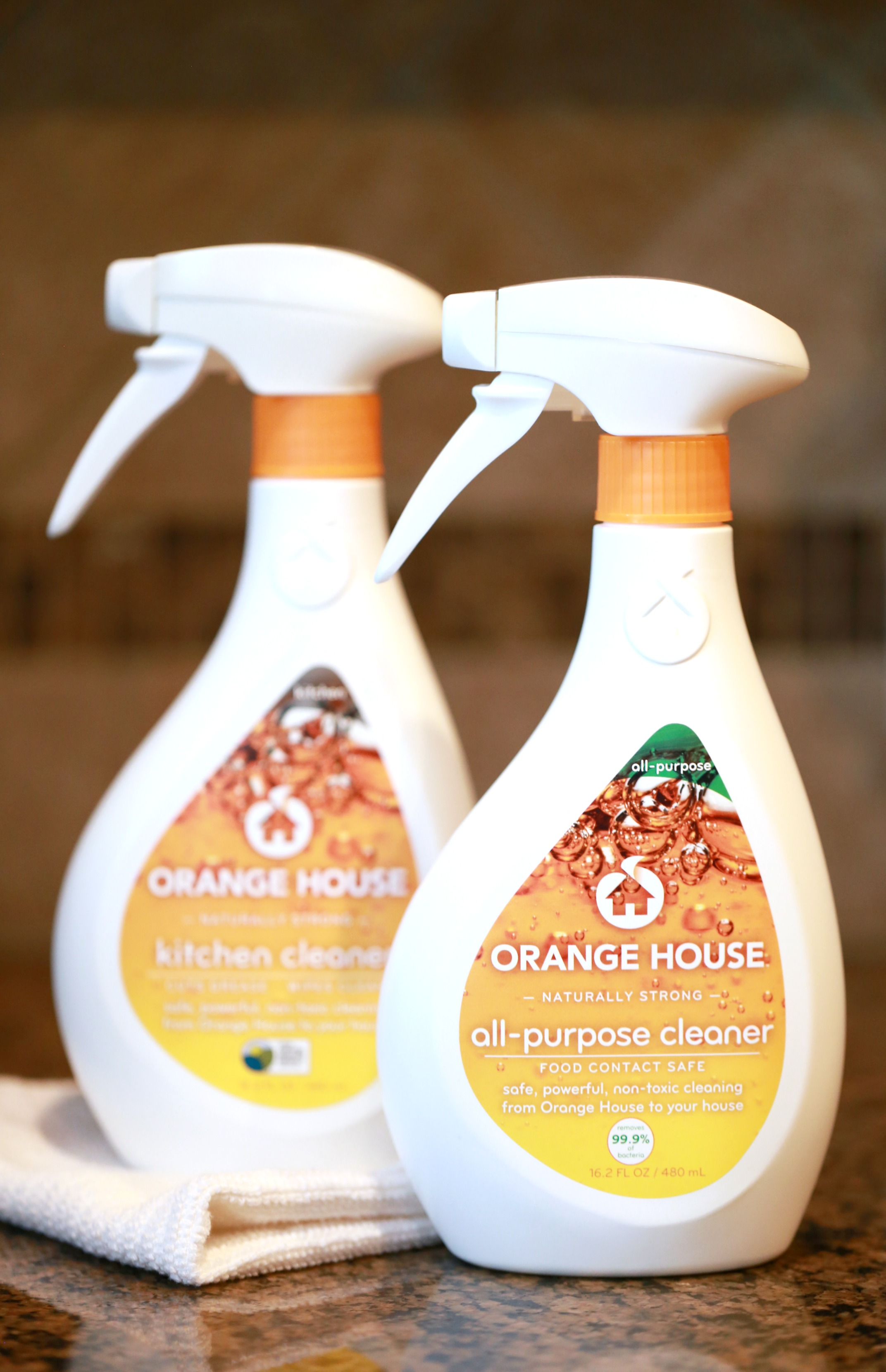 When keeping a clean home is a top priority, naturally strong cleaning products matter. Take the Orange House Challenge and see for yourself.