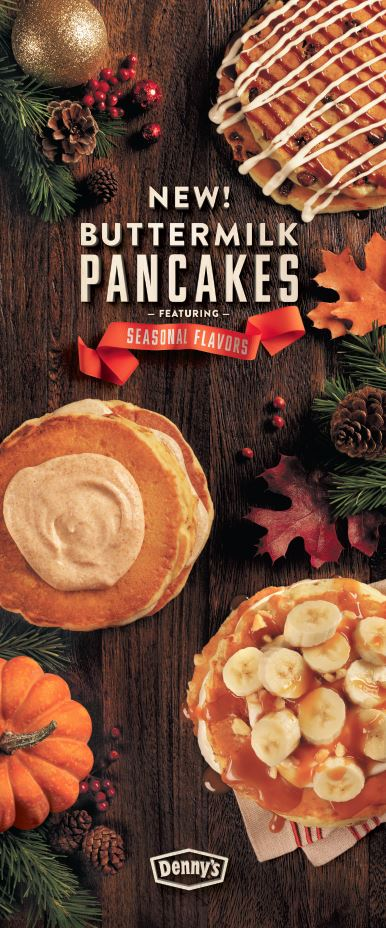 My favorite time of year is here. I get to enjoy all the seasonal flavors at Denny's while preparing for my favorite holiday.