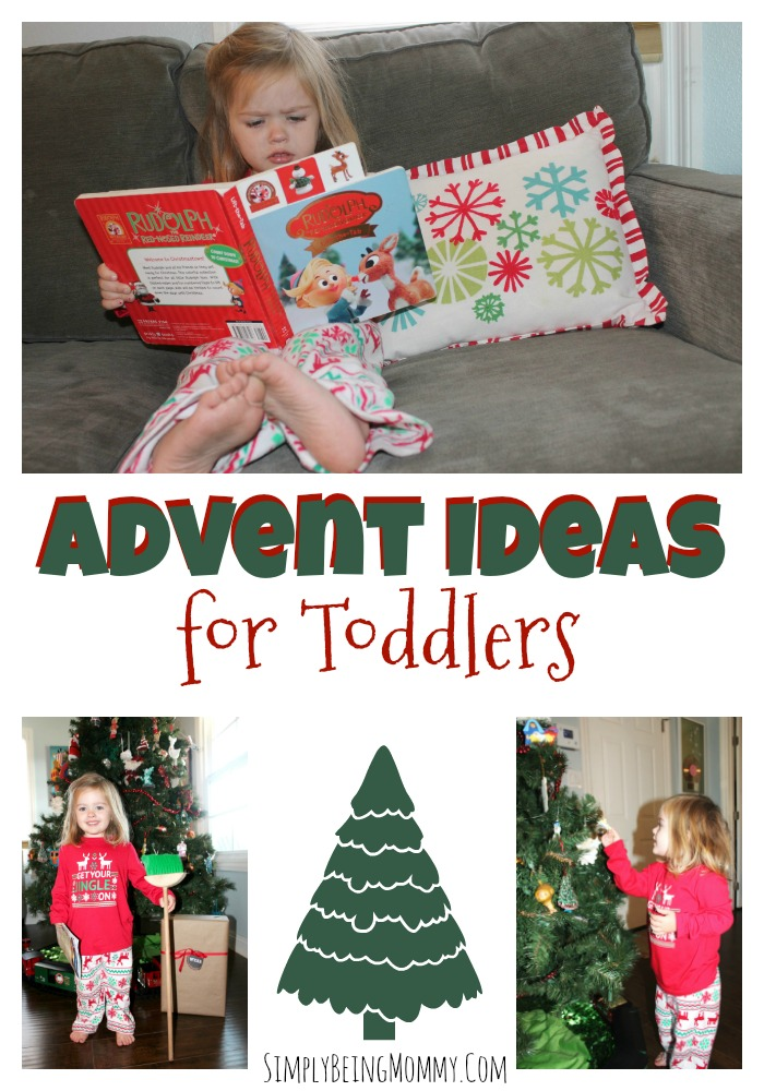 To help make this season fun for her as well, we're focusing on togetherness. If you've got a little one at home, try these 10 Advent Activities for Toddlers.