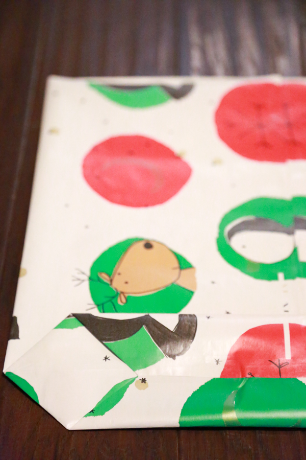 DIY Gift Bag from Wrapping Paper | Simply Being Mommy