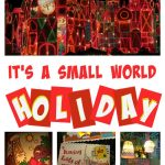 it's a small world Holiday Ride at Disneyland
