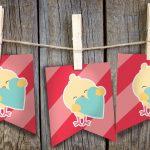 Valentines Chick Banner