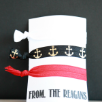 Going on a Disney cruise? Looking for Fish Extender gift ideas? Make these Disney cruise inspired DIY Hair Ties from fold over elastic.