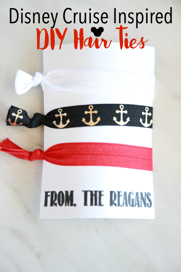 These Disney Cruise Inspired DIY Hair Ties are perfect for your upcoming Disney cruise vacation. Plus, they're perfect for gifting in the Fish Extender Program.