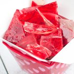 Strawberries and Cream Rock Candy