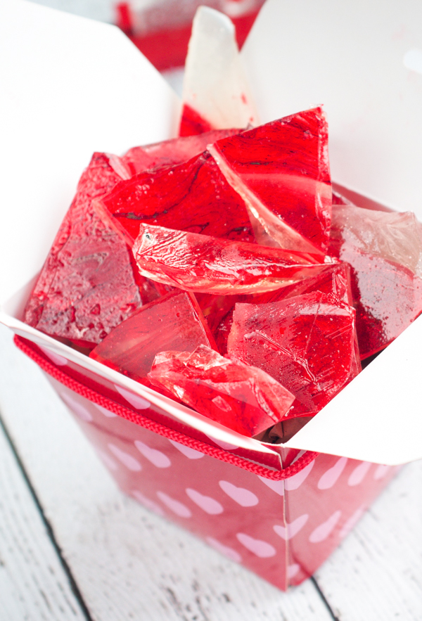 Making this Strawberries and Cream Rock Candy is fun! Plus, eating it isn't too bad either.