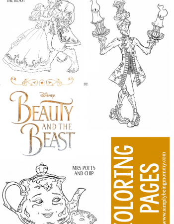 Get your hands on the hottest free coloring pages of the season. Download these Beauty and The Beast coloring pages for hours of coloring fun.