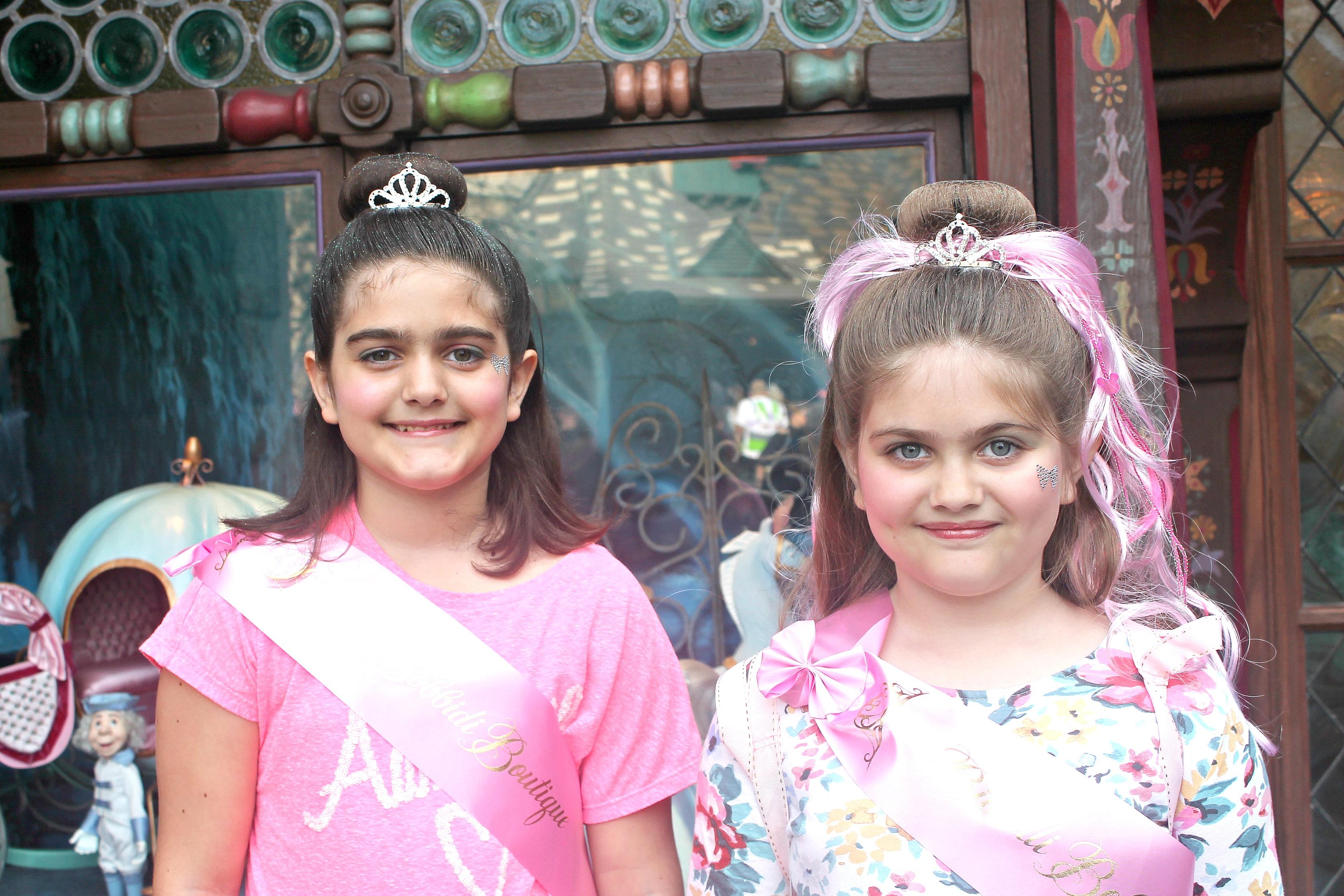 Treat your little princess to a magical transformation at Bibbidi Bobbidi Boutique at the Disneyland Resort.