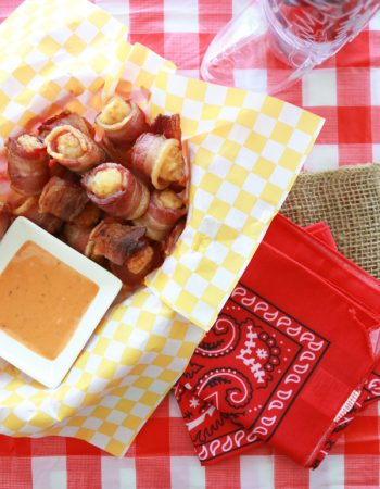 Bacon Wrapped Tater Tots are the perfect recipe for all your TexFest celebrations. See how easy they are to make.