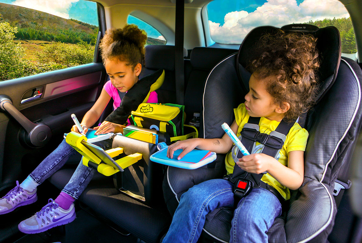 Getting your kids from here to there when they are still in carseats can be daunting. See how it's getting easier with these carpooling solutions with BubbleBum.