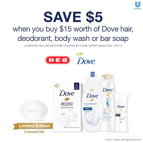 Dove is celebrating a huge milestone and they are inviting you to celebrate with them in the Dove 60 Years of Care giveaway.