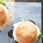 Egg and Prosciutto Breakfast Sandwich