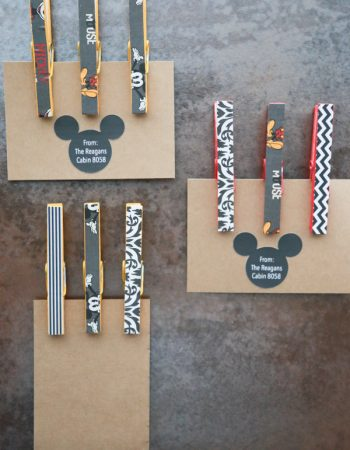 Need Fish Extender gift ideas? These Mickey Mouse Clothespin Magnets are the perfect, homemade gift!