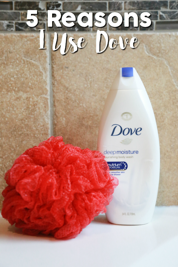 I'm definitely a brand loyalist. With 60 years behind them, here are 5 reasons I use Dove in my home.