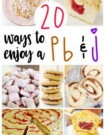 If you love a PB & J sandwich as much as I do, you'll love these 20 ways to enjoy a PB & J.