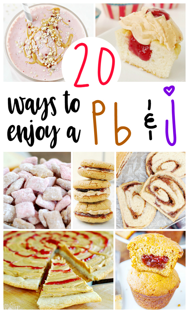 ways to enjoy a pb & j
