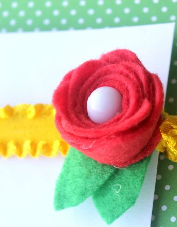 Celebrate your favorite princess with these Beauty and the Beast inspired hair ties.