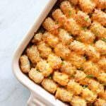 This Sloppy Joe Tater Tot Casserole recipe is the perfect solution for those busy nights you don't have a lot of time to cook.