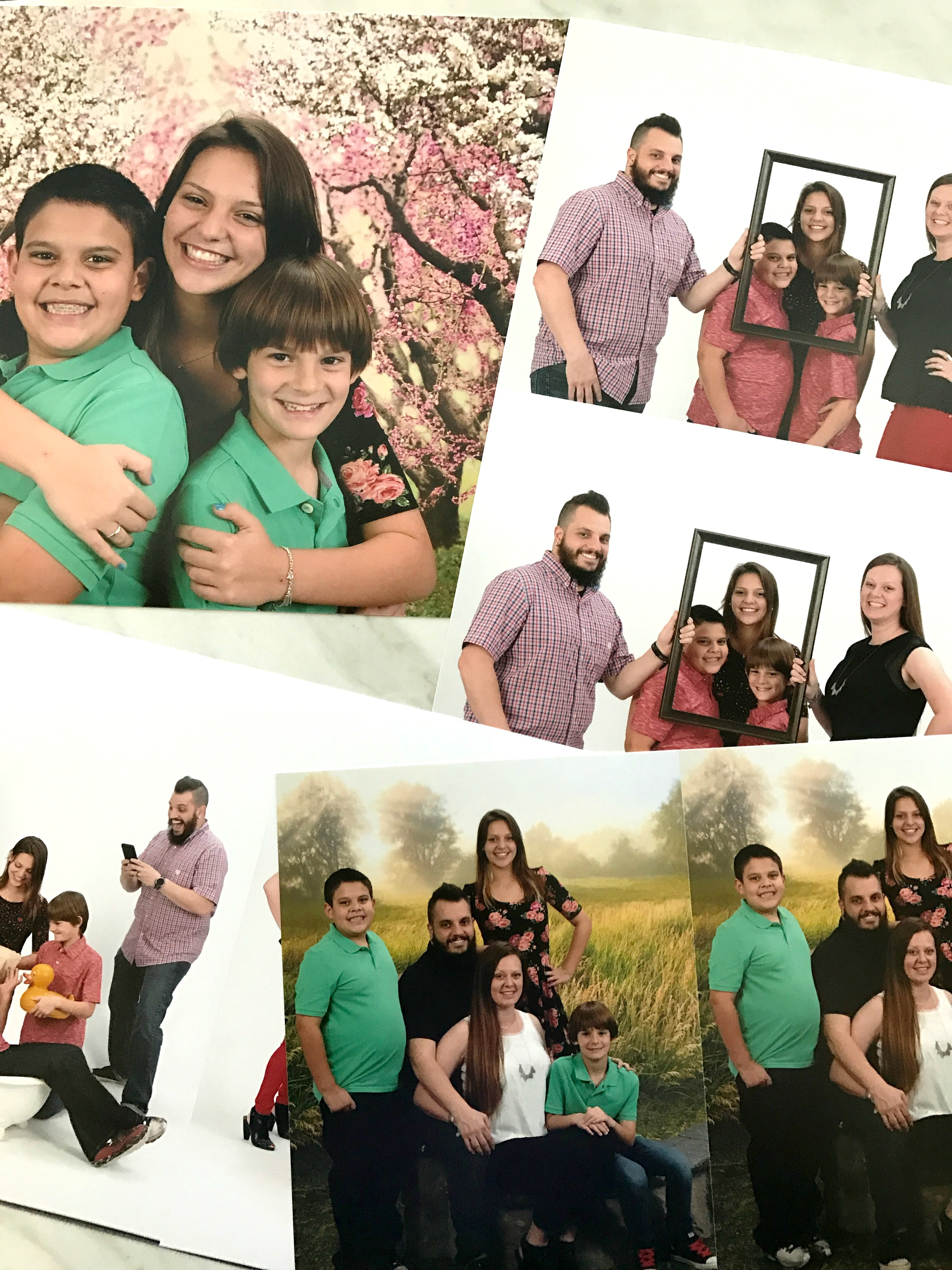 spring portraits at Portrait Innovations