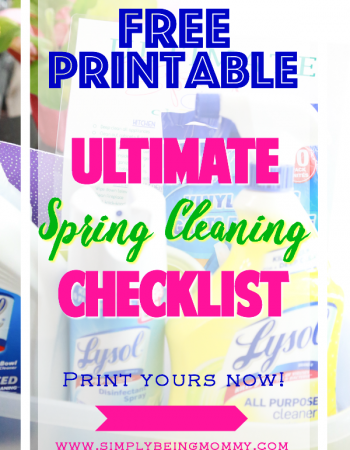 It's time to get your home in tip top shape with the Ultimate Spring Cleaning Checklist. This checklist will ensure that your entire home is spic and span for the coming year.