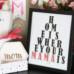 Home is Where Your Mama is Eye Chart Printable