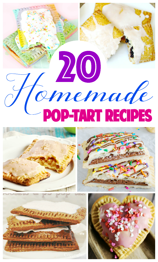 Love pop-tarts? Then you'll love these 20 homemade pop-tart recipes from around the web.