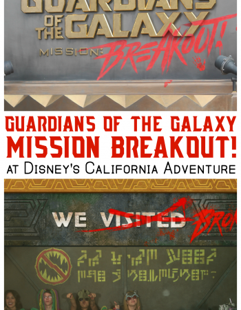 Join Rocket as he attempts to rescue the Guardians of the Galaxy on Disneyland's newest thrill ride: Guardians of the Galaxy - Mission: Breakout!
