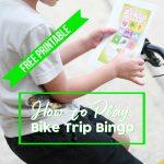 How to Play Bike Trip Bingo