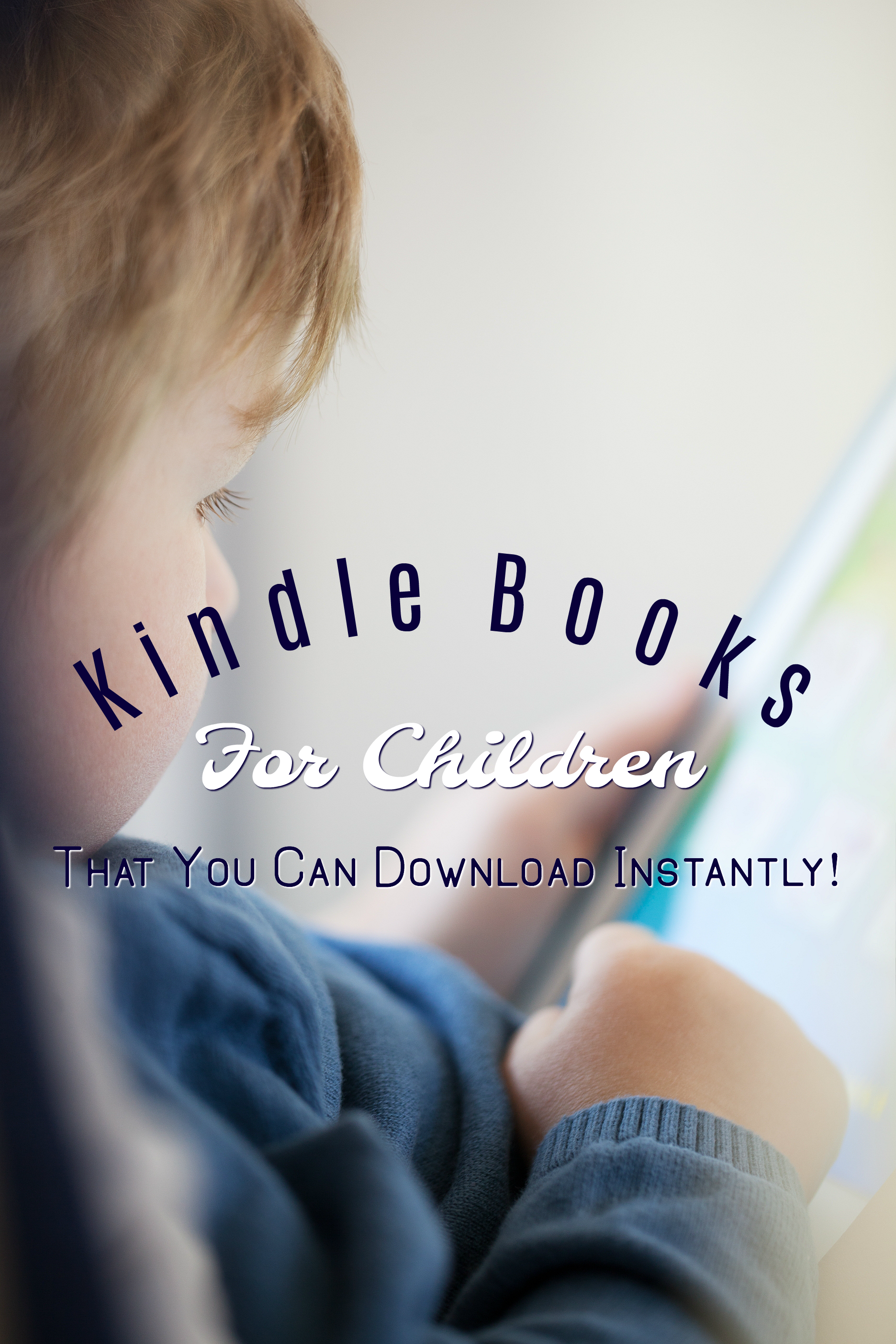 Read easily on-the-go with these Kindle books for children. Don't let the summer slide happen to your children.