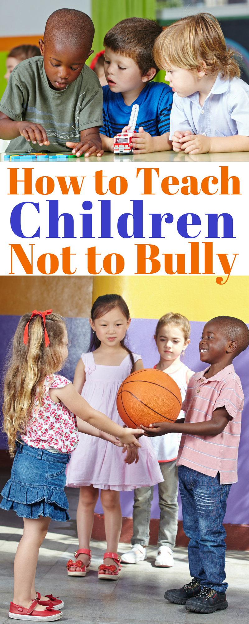 Parenting is tough and sometimes we need a little help. Here are some simple solutions for how to teach children not to bully.