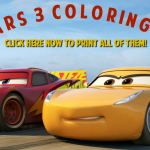Free Cars 3 Coloring Pages