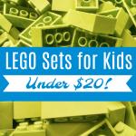 LEGO Sets for Kids Under $20