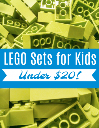 "Keep the ""I'm bored"" away this summer with these LEGO sets for kids under $20!"