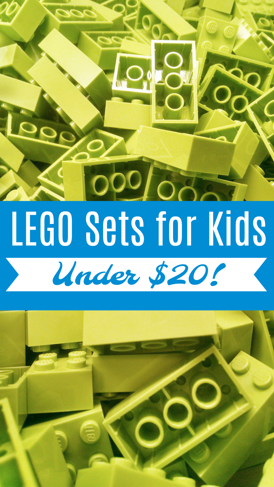 Get these LEGO sets for kids under $20 to enhance indoor summer play! Keep your children entertained inside while they can't play outside.